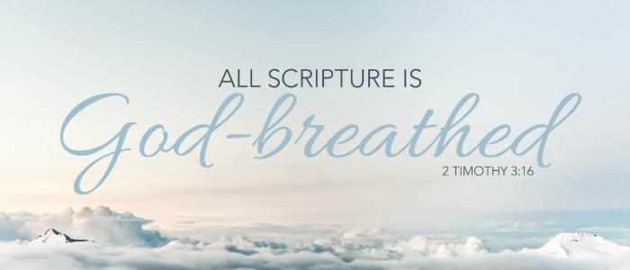 scripture god breathed